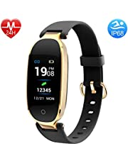 BUXAZ FIT 1 Smart Fitness Band, Sports Activity Tracker, Step and Calorie Counter Watch with Pedometer, Heart Rate Monitor for Women and Kids