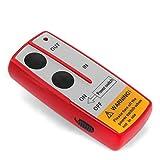 Elektrische Seilwinde Motorwinde 12V 5909 KG 6,0 PS inkl. Funkfernbedienung Rot Test