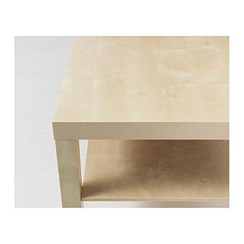 Tavolino Basso Ikea.Ikea Lack Tavolino Basso Effetto Betulla