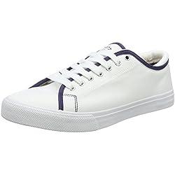 Pisahuevos Hackett Mr Classic Plimsole, Zapatillas para Hombre, Blanco (White), 44 EU