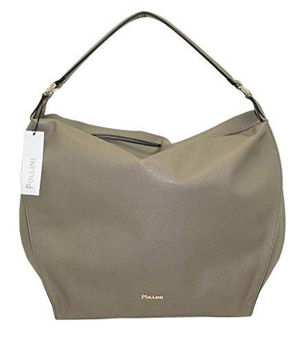 Borsa POLLINI SC4526 woman handbag saffiano pu nuova collezione TAUPE