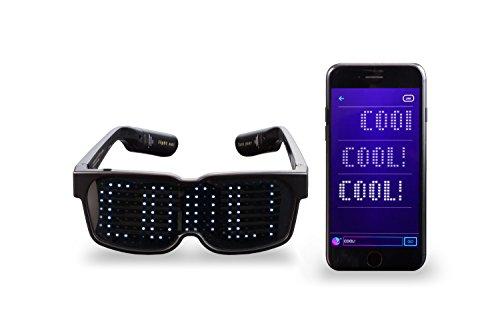 CHEMION - Einzigartige Bluetooth-LED-Gläser – Nachrichten, Animation, Zeichnungen ()