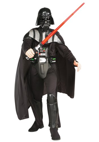 Rubie's Adult Deluxe Darth Vader Fancy Dress Costume Standard