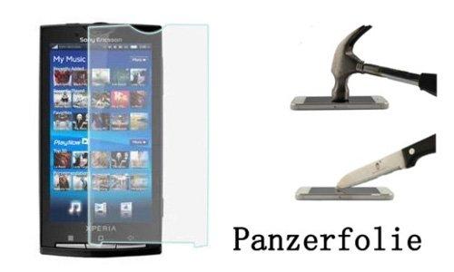 FONFON Panzerfolie für Sony Ericsson Xperia X10 Mini Pro Schutz Folie Screen Klar Folie Crystal Clear Schutzfolie X10 Mini Pro
