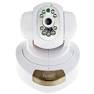 EasyN H3-186V Pan & Tilt IP/Network IP Camera with Two-way Audio and Night Vision, 3.6mm Lens