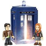 Doctor Who - 016113 - Character Building - Mini Coffret Le Tardis - 60 Pièces