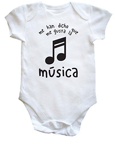 hippowarehouse-me-han-dicho-que-me-gusta-la-musica-body-bodys-pijama-ninos-ninas-unisex