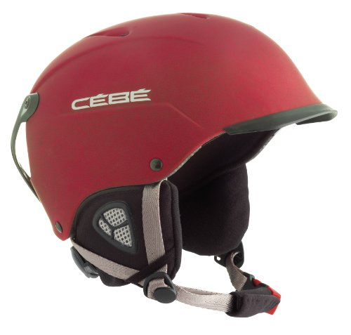 Cébé Schihelm Contest Visor, matt red, 52-55cm, 117045255
