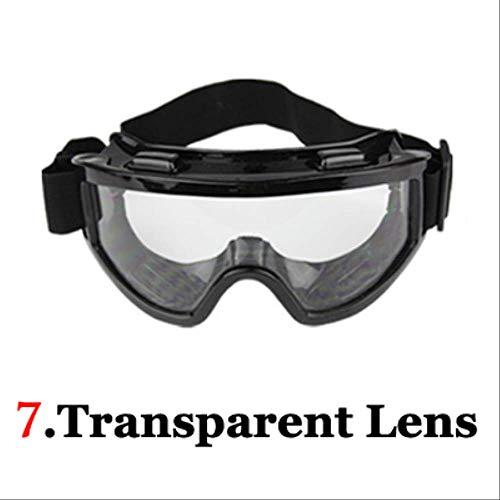 XYQY brille Mode Neue Männer Frauen Skibrille Roller Helm Brillen Velar Getönte Off Road Motocross Gläser Filme Können Ersatz7