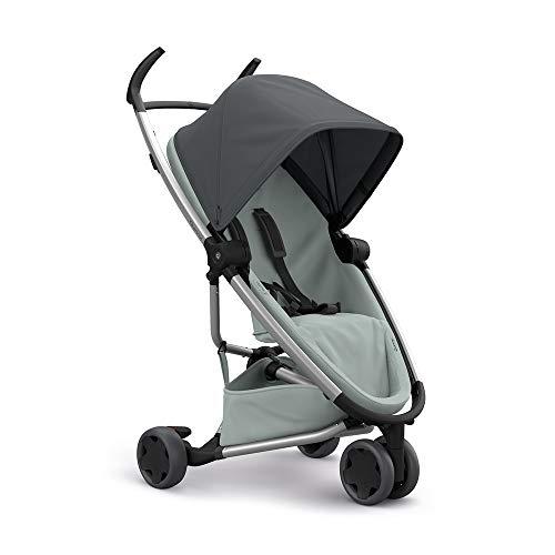 Quinny Zapp Flex Stylischer Komfort-Drei Räder Buggy, mit vielen Extras, leicht, kompakt faltbar, ab der Geburt nutzbar, graphite on grey