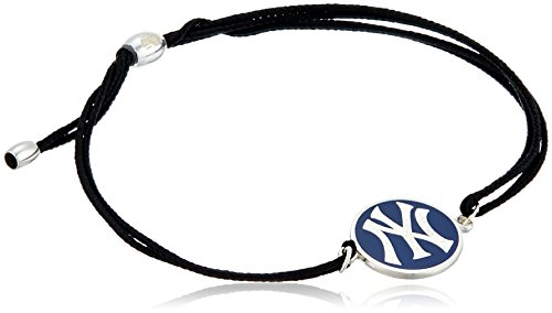 Alex and Ani Kindred Cord New York Yankees Sterling Silver Bangle Bracelet - New York Cord