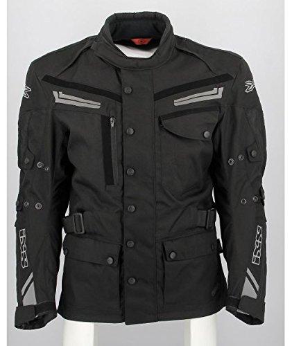 IXS Evans Giacca Tessuto moto - L, nero