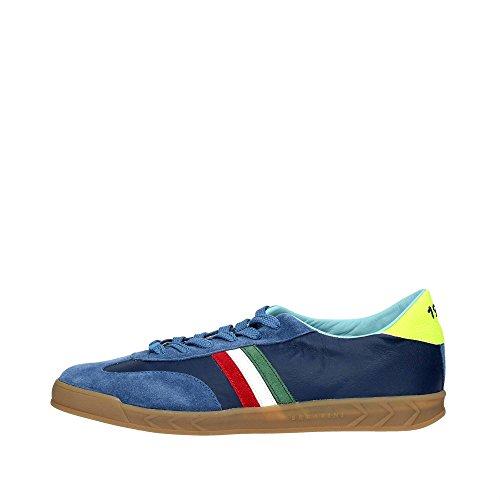 Serafini CAMP.102 Sneakers Uomo Camoscio BLU BLU 44
