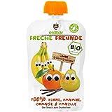"""erdbär Freche Freunde """"100% Birne, Banane, Orange, Vanille"""", 6er Pack (6 x 100 g)"""