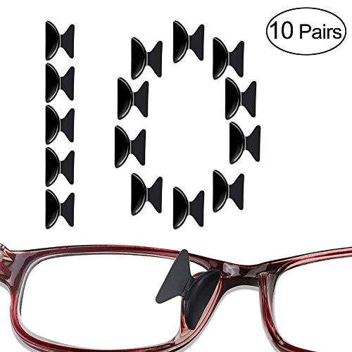 Pastillas de silicona de 2.5mm antideslizantes para gafas