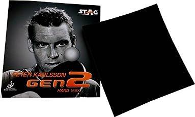 Stag Peter Karlsson Gen2 Hard TT Rubber, 1.8mm (Black)