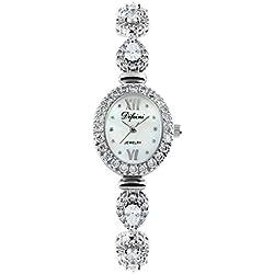 Fashion diamond women watch/Waterproof quartz Bracelet Watch/Simple casual watches-C