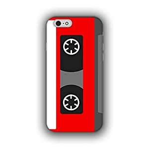 Caseque (Pro) Ripe Cassette Back Cover For Apple iPhone 6