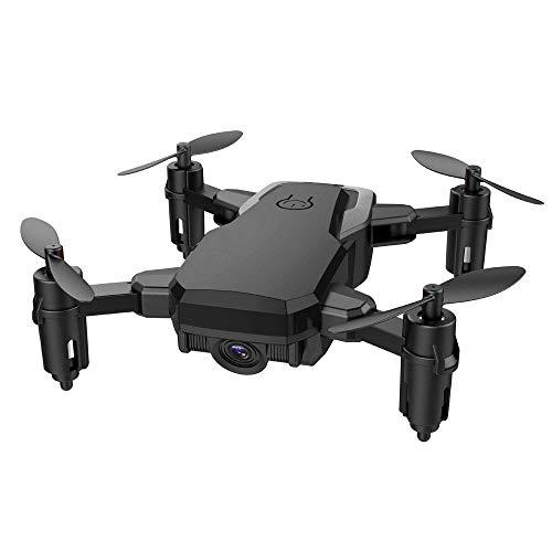 pter Mini RC Drohne für Kinder Faltbarer RC Quadcopter mit Höhenhaltemodus Weihnachten Hubschrauber Spielzeug Ferngesteuert Kinder (one size, Schwarz) ()