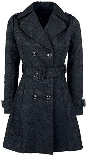 Voodoo Vixen Susan Coat Kurzmantel schwarz XXL