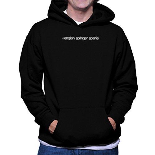 Felpe con cappuccio Hashtag English Springer Spaniel