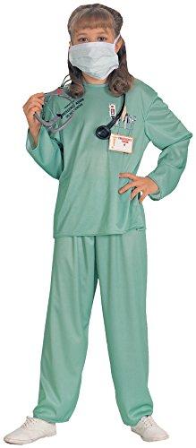 Imagen de rubie's 881061m  disfraz de médico para niño