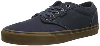 Vans Atwood M, Sneakers Hautes homme - Bleu (Navy/Gum), 38.5 EU (5.5 UK)