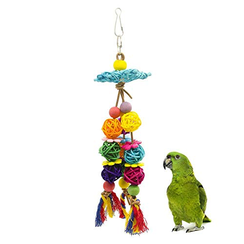 Purebesi Bird Parrot Toys Bird Swing Toy Parrot Swing