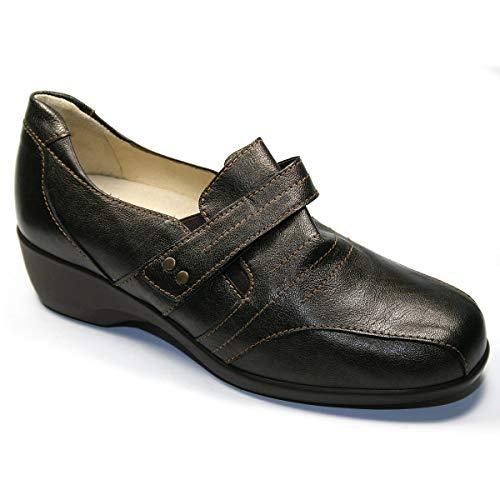 Zapato Mocasin Sport para Plantillas Drucker M-24423 Marron - Marron, 40