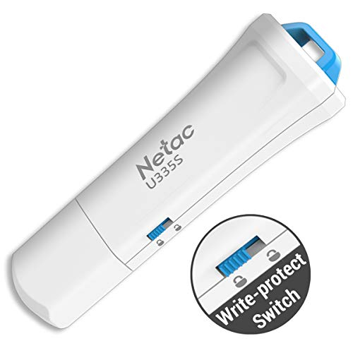 Secure Lock Usb (Schreiben geschützt USB Flash Drive-Netac u335s USB 3.0Hardware Lock Sicher Stick Pen Memory Stick 1Stück 32GB)