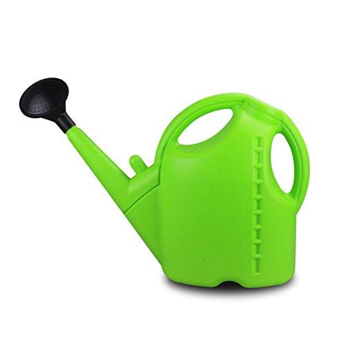 Wddwarmhome L'arrosage en plastique de ménage de bouilloire d'arrosage de pp de la capacité 9L élevée peut arroser le pot d'arrosage de bouche longue ( Couleur : Fruit green )