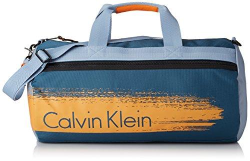 Calvin Klein Jeans Cooper Weekender K50K501145 Herren Umhängetaschen 30x15x30 cm (B x H x T), Blau (Ocean 405 405) (Design Akzent Italienische Handtasche)