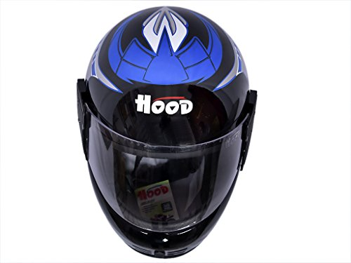 HOOD branded FULL Face Helmet With ISI Mark G-ONE At Best Price  available at amazon for Rs.449