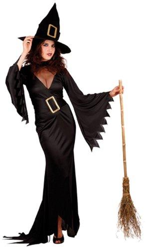 Boland 87281 - Erwachsenenkostüm Elegante Hexe, Kleid Größe M, mit Hut, (Hokus Pokus Kostüme)