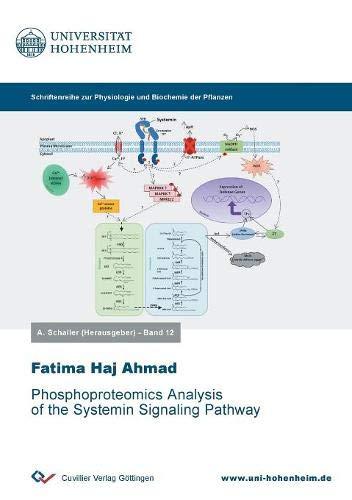 Phosphoproteomics Analysis of the Systemin Signaling Pathway (Physiologie und Biotechnologie der Pflanzen)