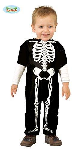 Halloween Skelett Kostüm für Babys und Kleinkinder (74/80)