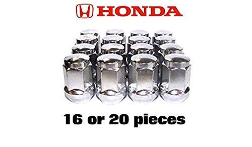 20 Radmuttern HONDA Rad Muttern Zink M12x1,5 Schaftlänge: 34mm Kegel 60° Kegelbund SW17 (16)