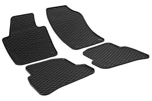 Gummi Fußmatten Gummimattten fahrzeugspezifisch Test
