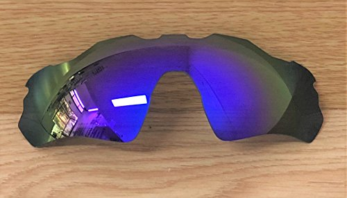MZM Polarisierte Ersatzgläser für Oakley Radar Ev Path ( wählen Sie Die Farbe) (Purple Mirror)