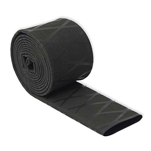 Schrumpfschlauch, rutschfest, 40mm, 1m, Schwarz