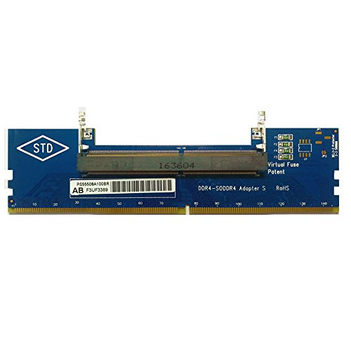 LYWS Laptop DDR4 RAM auf Desktop Adapter Karte Memory Tester SO DIMM auf DDR4 Konverter (Tester Memory)