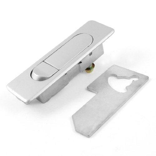Silber Ton Metallic Pop Up Flugzeug Typ Cam Lock für elektrische Schränke