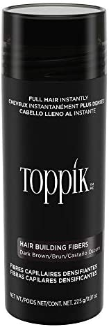 Toppik Hair Building Fibers 27.5gm - Dark Brown