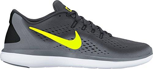 Nike Herren Men's Nike Free Rn Sense Running Shoe Laufschuhe Anthracite/Volt/Cool Grey/Black