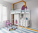 Noa & Nani - Odin High Sleeper Cabin Bed - (White)