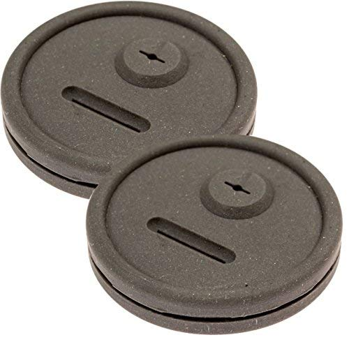 Impresa Products 2 Pack Thermometer and Probe Grommet for Grills - Compatible with Weber Smokey Mountain Cookers and More - Compare to Replacement 85037 - by Food Equipment Manufacturers