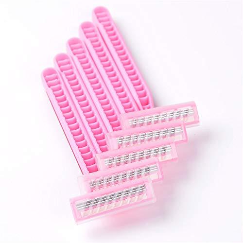 La cuchilla afeitar se debe afeitar tres capas cortador