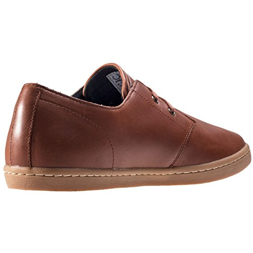 Fred Perry Byron Low Tumbled Leather Tan B1133448, Turnschuhe Marron