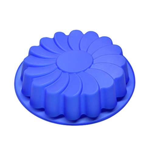 Cake Mould,Clode® 1PC Silicone Large Flower Cake Mould Chocolate Soap Candy Jelly Mold Baking Pan