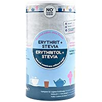 NoSugarSugar Erythrit+Stevia Zuckerersatz kalorienfrei, 1er Pack (1 x 1000 g)